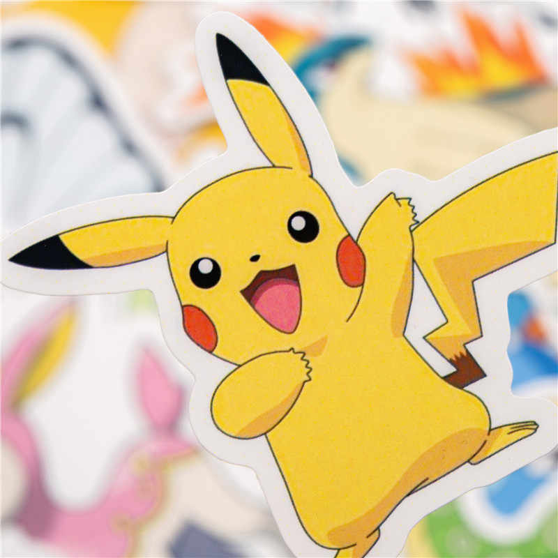 36 sztuk Anime gry naklejki naklejki ze zwierzętami na bagaż deskorolka rowerowa lodówka Laptop Cute Cartoon zestaw naklejek
