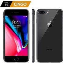 ปลดล็อก Apple IPhone 8 PLUS 2675mAh 3GB RAM 64G/256G ROM 12.0 MP ลายนิ้วมือ IOs 11 4G LTE สมาร์ทโฟน 1080P หน้าจอ 5.5 นิ้ว