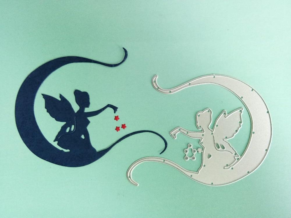 Fairy Metal Cutting Dies Stencil For Scrapbooking Paper Card Making DIY Craft