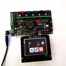 МКС Gen + МКС TFT28 цветной сенсорный экран 3D принтер DIY стартовый набор ATmega2560 плата STM32 жидкокристаллический дисплей Совместимость RAMPS1.4