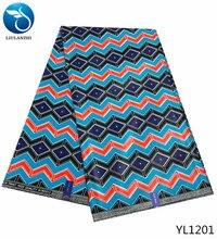 LIULANZHI indian wax fabric ankara print african beautiful nigerian material 6yards/lot YL1197-1210