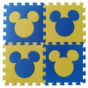Image 3 - Meitoku bébé EVA mousse puzzle tapis de jeu/cheval de troie imbriqué exercice tapis de sol carreaux, tapis pour enfants, Each32cmX32cm