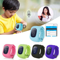 Q50 Smart Watch SOS Call Activity Tracker Children Kid Safe Location Finder Anti Lost Monitor Phone