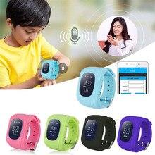 Q50 Smart Kid Safe smart Watch SOS Вызова Расположение Finder Locator трекер для Ребенка Anti Потерянный Монитор Маленький Сын Наручные Без GPS