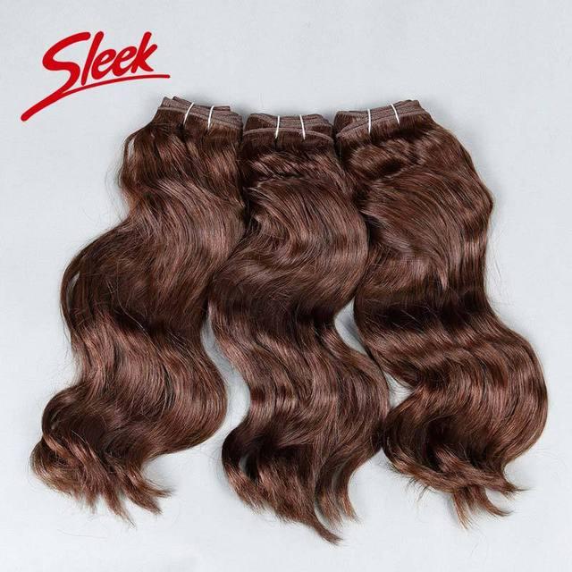 Sleek Mink Brazilian Hair 100 Human Hair Weave Brands 3pcs/lot Free Shipping 8A Brazilian Virgin Hair Wave 1# 1b# 2# 4#
