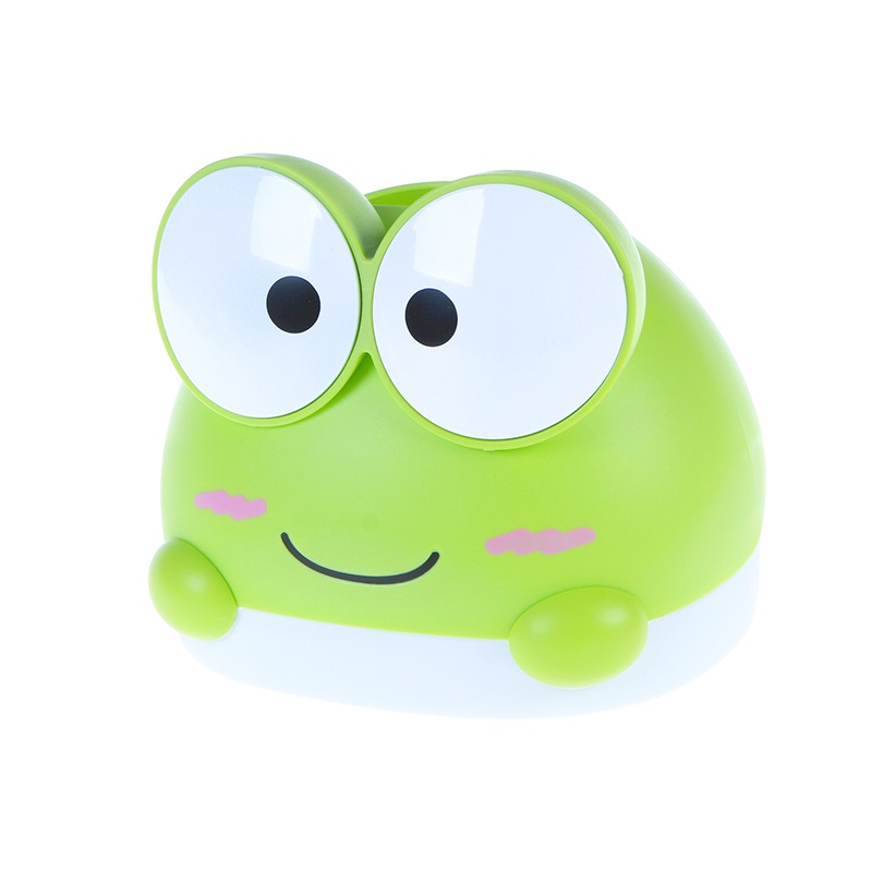 BF040 Home Cartoon creative frog paper box, lovely household box tissue 14.7*16.5cm