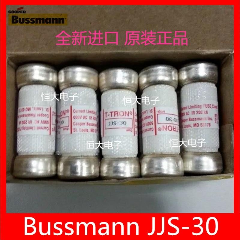 BUSSMANN ceramic fuse tube T-TRON fuse JJS-35 35A 600V USA Import us bussmann fuse tcf45 tcf40 tcf35 35a tcf30 600v fuse