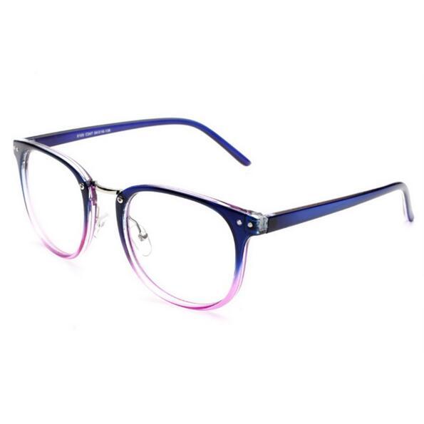 a1e1418001 Monturas De Lentes Mujer 2017 gafas de diseñador Retro De vidrio liso para  hombre montura de gafas ópticas redondas oculos De grau en De los hombres  gafas ...