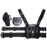 Тактический кобуры пистолет и Plateform для Airsoft Glock 17 черный
