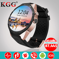 KW88 Android 5 1 OS Smart Watch Electronics Android 1 39 Inch Mtk6580 SmartWatch Phone Support