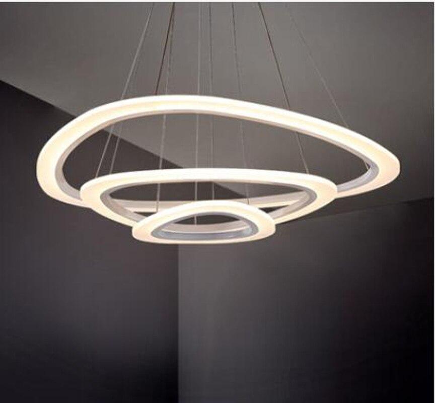 ZYY DIY stílusú 90-260V modern akril divat lámpa, kör alakú - Beltéri világítás