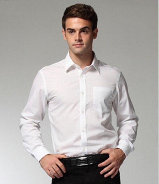 S 4XL Black/white man's formal Shirts,Full Sleeve autumn mens ...