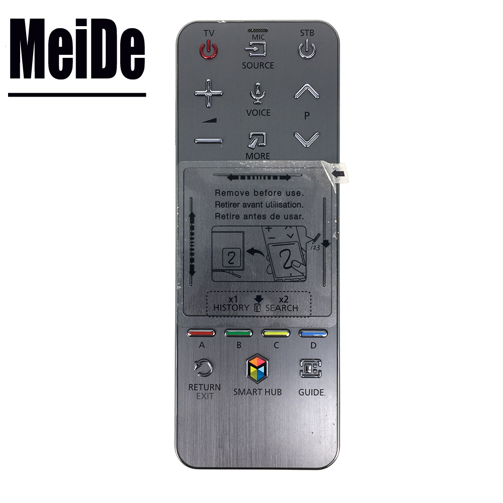 Used Original Remote control FOR SUMSUNG AA59-00761A RMCTPF1AP1 Smart HUB Touch Voice Controller For Samsung 3D Smart LED LCD TV used original aa59 00759a for samsung smart touch audio sound tv remote control tm 1390 aa5900759a rmctpf1ap1 fernbedienung