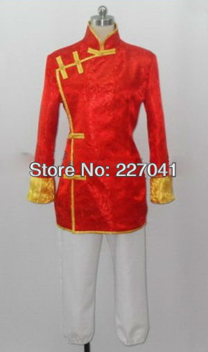 Axis Powers Hetalia China Wang Yao Cosplay Costume