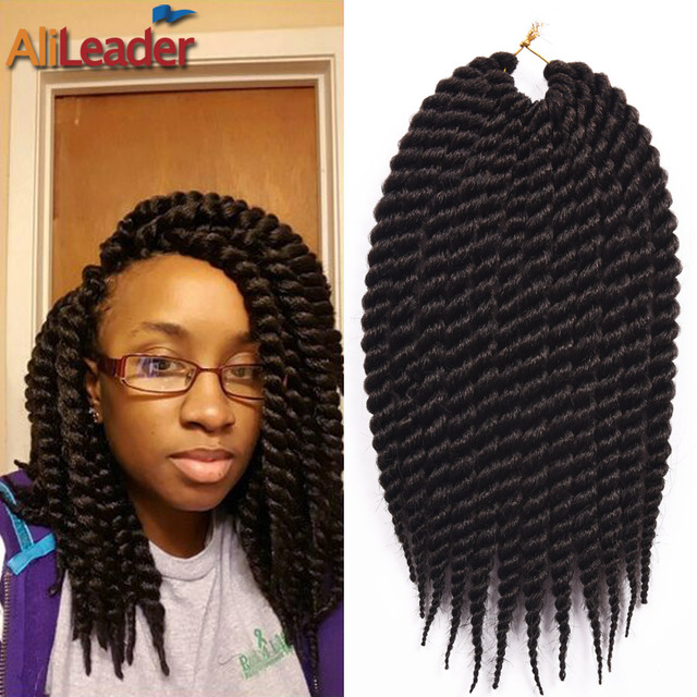 Crochet Hair Packs : Bouncy Havana Mambo Twist Crochet Braids 1-10 Packs 12Strands/Pack ...