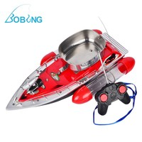 Bobing 300M Range RC Wireless Fish Finder Electric Fishing Boat Automatically Intelligent Send Hooks Bait Thrower