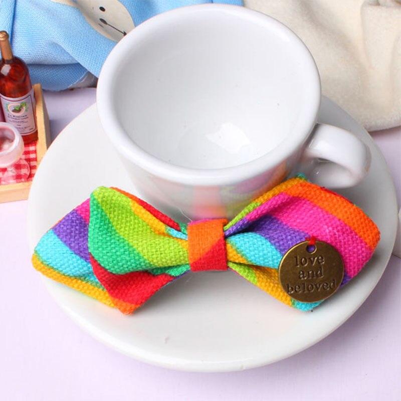 Mantieqingway Bowtie para bebés niños de algodón ajustable - Accesorios para la ropa - foto 3