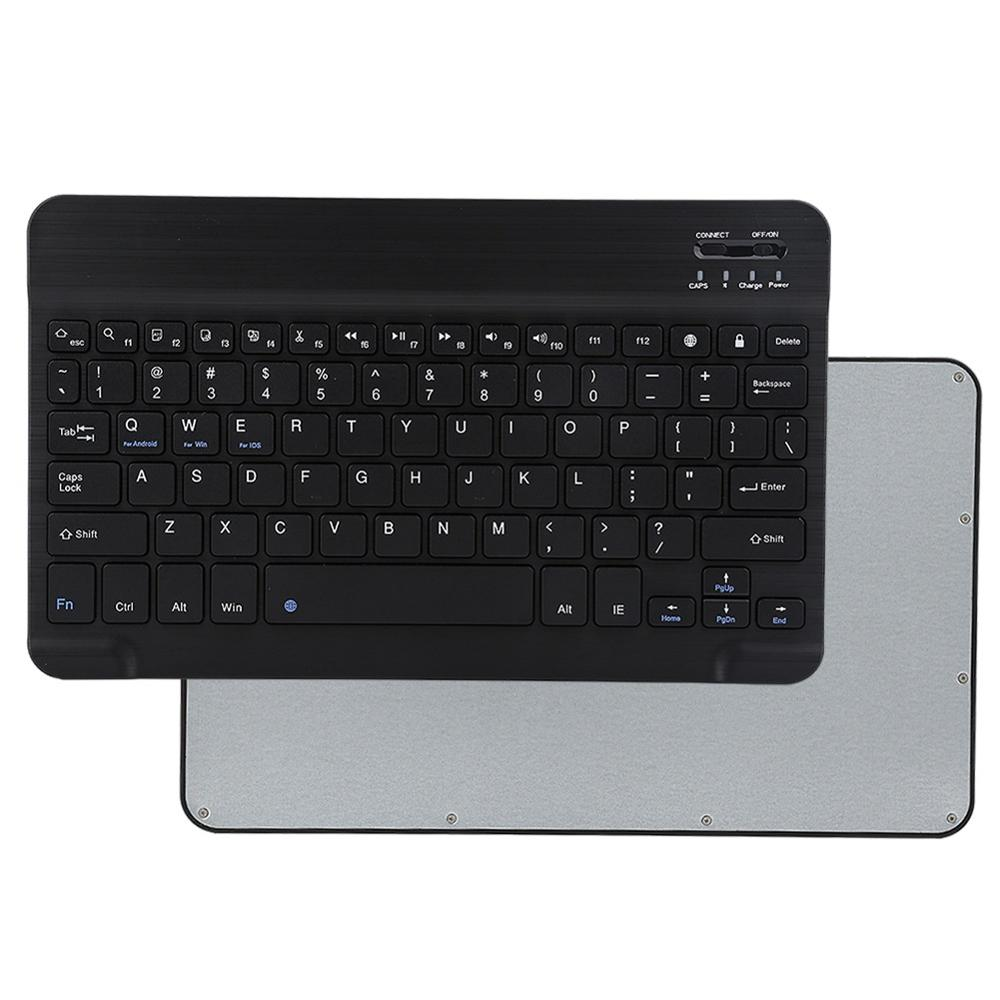 Portable Wireless Bluetooth Keyboard For iPad iPhone Macbook Rechargeable Mini Keyboard For iPad Air Pro 2017 2018 Tablet Keypad-in Keyboards from Computer & Office
