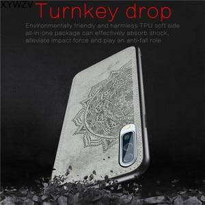 Image 2 - עבור סמסונג גלקסי A50 מקרה רך סיליקון יוקרה בד מרקם קשיח מחשב מקרה טלפון עבור Samsung Galaxy A50 כיסוי עבור סמסונג A50