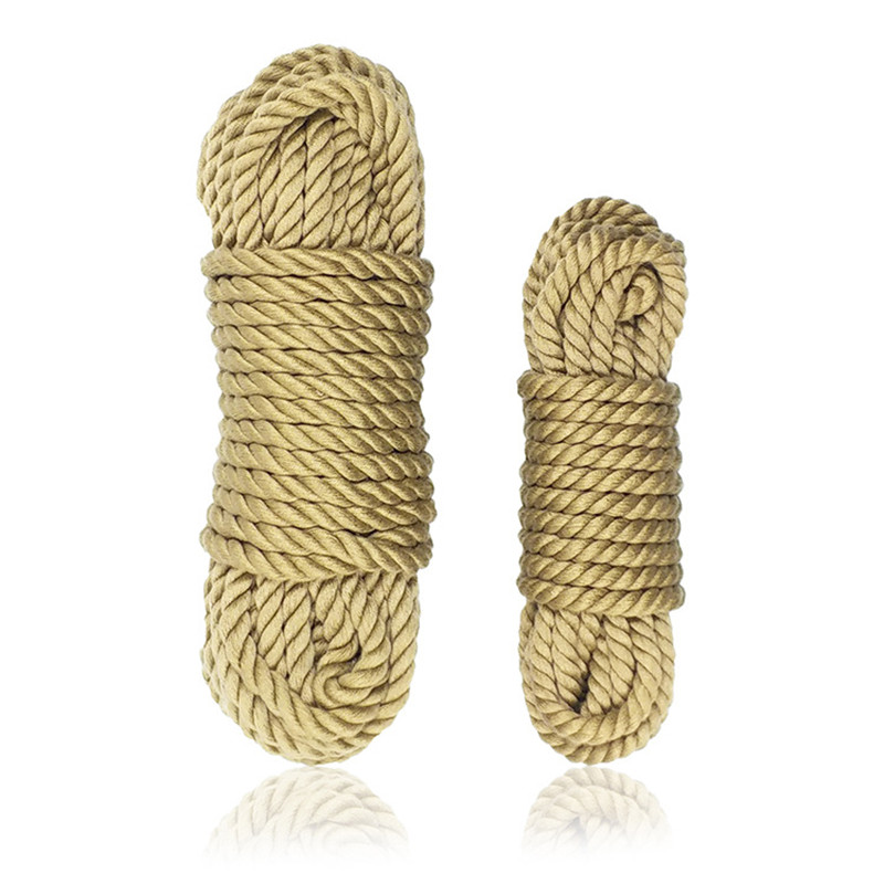 Soft Cotton Rope Bdsm Bondage Sex Toys Handcuffs Toys For Adults Shibari Restraints 5M 10M Rope Cord Binding Binder Restraint