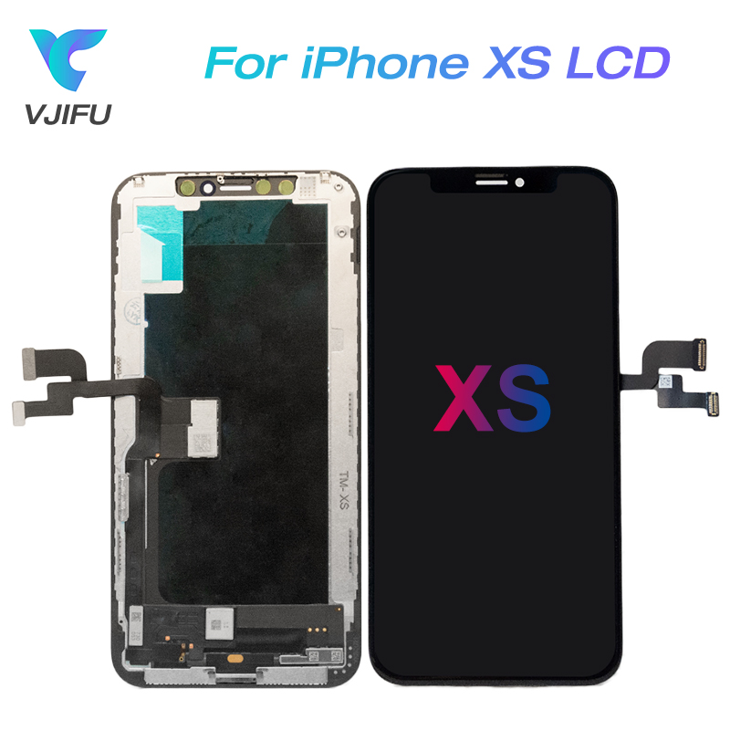 5.8 OEM Original AMOLED For Apple iPhone XS LCD Display Digitizer Replacement Assembly For iPhone XS Screen Assembly 5.8 OEM Original AMOLED For Apple iPhone XS LCD Display Digitizer Replacement Assembly For iPhone XS Screen Assembly