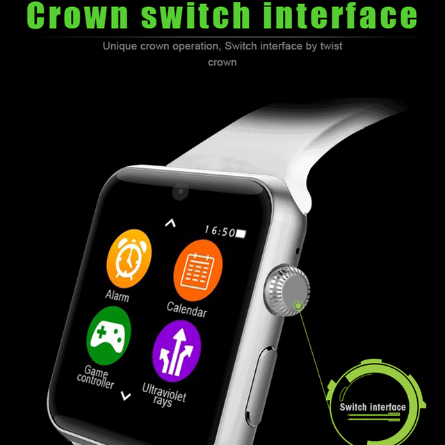 Greentiger SIM Card DM09 Smart Watch Waterproof HD  IPS Screen Bluetooth Sports Smartwatch Wearable Devices For IOS Android