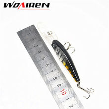 WDAIREN 1pcs 10cm 7.8g Isca Artificial Hard Bait Pesca Minnow Fishing lures wobbler crankbait 6# hook 3D eyes 8 Colors YR-209