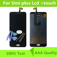 100 Original For Umi Plus LCD Display Touch Screen LCD Digitizer Glass Panel Replacement For