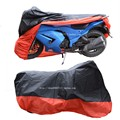 motor universal cover red and black very cool Rain and dust cover  Motocycle Covers