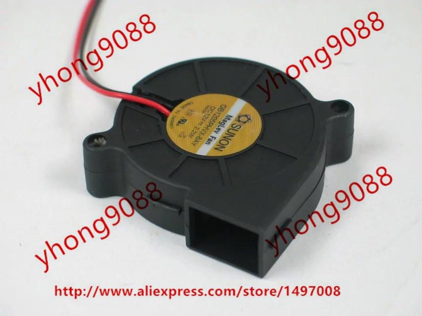 Free shipping For SUNON GB1205PHVX-8AY DC 12V 2.2W 2-wire 2-pin connector Server Blower Cooling fan источник бесперебойного питания apc back ups 1100va 660w bx1100cirs