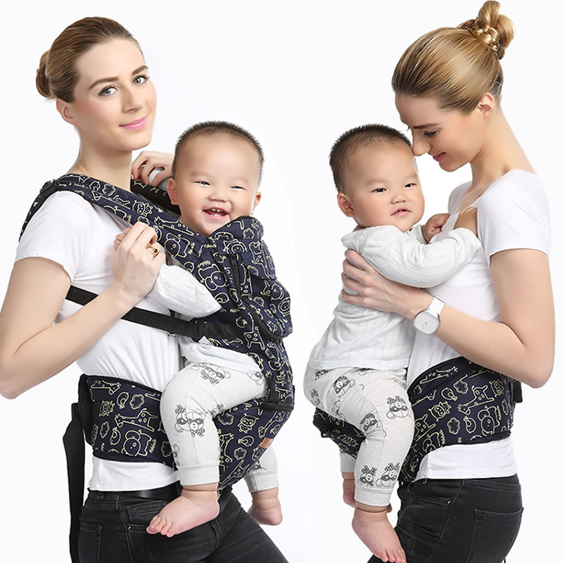 Hot Front Baby Carrier Baby Hipseat Sling Toddler Baby Backpack Carrier Infant Baby Wraps Kids Waist Carrier Stool BD35 baby carrier children waist stools hipseat backpacks for 4 36m baby infant toddler kids four seasons autumn shoulder straps