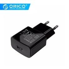 ORICO WHA-1U 5V1A 5V2A USB Charger Travel Wall Adapter 5W 10W Portable Smart Mobile Phone EU Plug Available