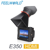 FEELWORLD E350 3,5 EVF HDMI Электронный видоискатель 3,5 HD 800x480 ЖК дисплей Дисплей лупы Лупа для DSLR Камера