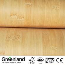 Bamboo Veneer Flooring DIY Furniture Table Natural Material Chair Cabinet Doors Outer Skin Size 250x42 Cm Caronized Horizontal
