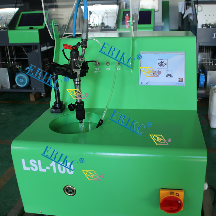 ERIKC diesel common rail injector test machine LSL100 more functional test bench