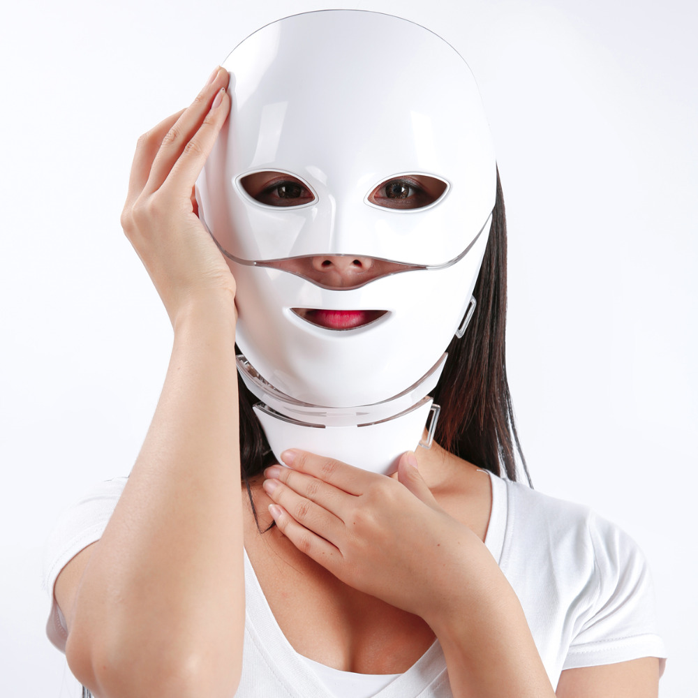 2018 NEW PDT Photon LED Facial Mask Skin Rejuvenation Wrinkle Removal Electric Anti-Aging LED Mask Beauty Face Mask korean collagen pig skin face mask 100g anti aging cream anti wrinkle magic facial mask ageless products cosmetics bioaqua page 9