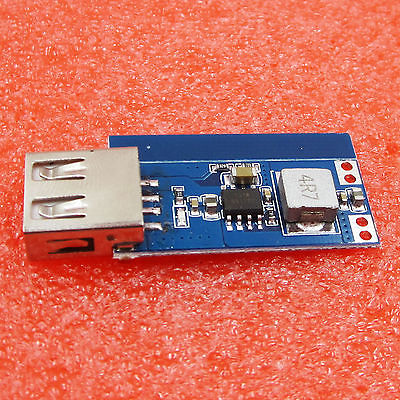 DC-DC 3V/3.3V/3.7V/4.2V to 5V USB 1A 2A Step Up Vehicle Power Charge Module new ...