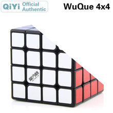 QiYi Wuque 4x4x4 Magic Cube MoFangGe XMD 4x4 Cubo Magico Professional Speed Neo Puzzle Kostka Antistress Fidget Toys