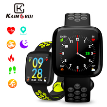 Купить с кэшбэком Smart Watch Women F15 Blood Pressure Heart Rate Monitor Pedometer Cycling Mode Fitness Bracelet Band IP67 for IOS Android Phone