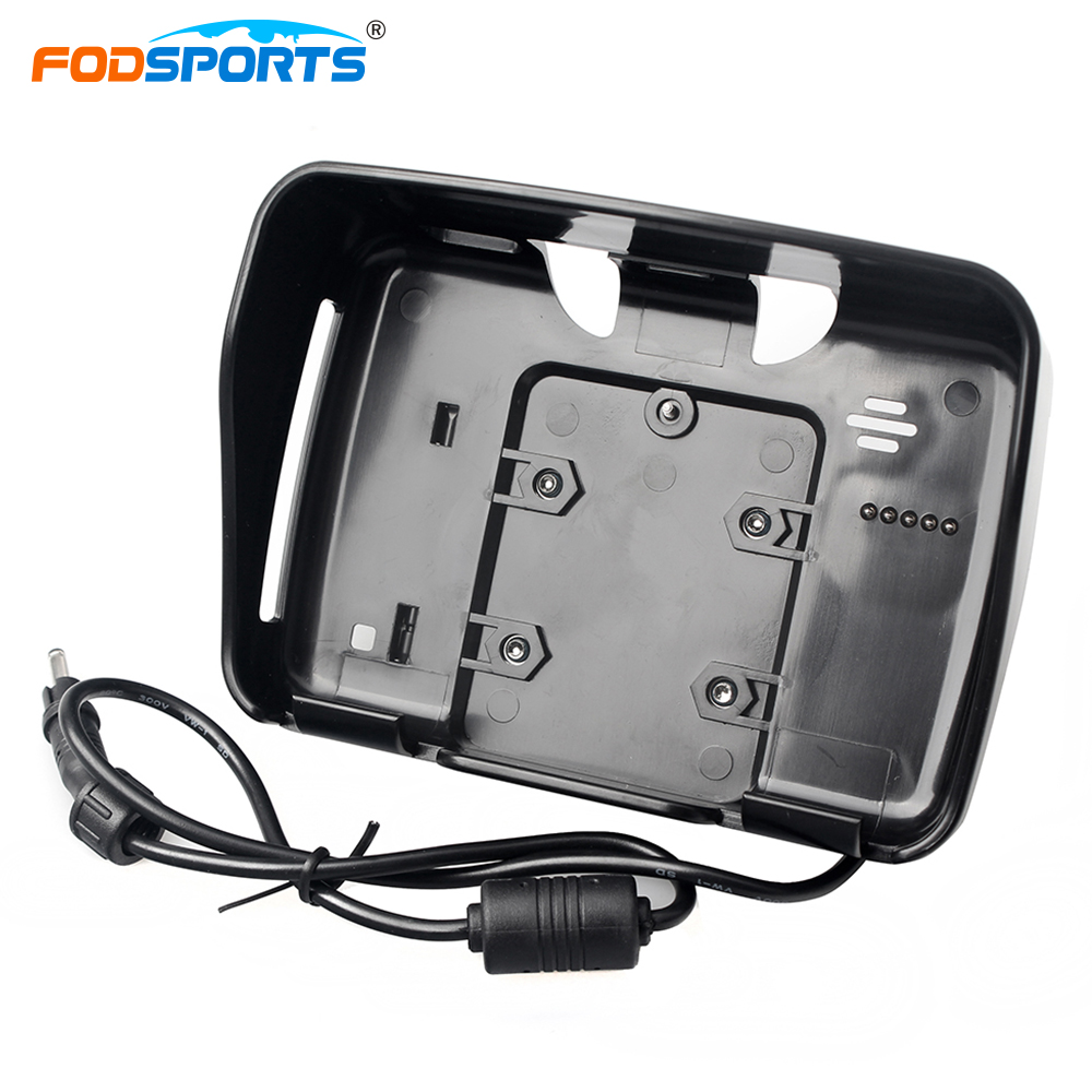 Fodsports motocicleta GPS accesorios Motorcyclist Navigator piezas soporte para navegación GPS de motocicleta de 4,3 pulgadas