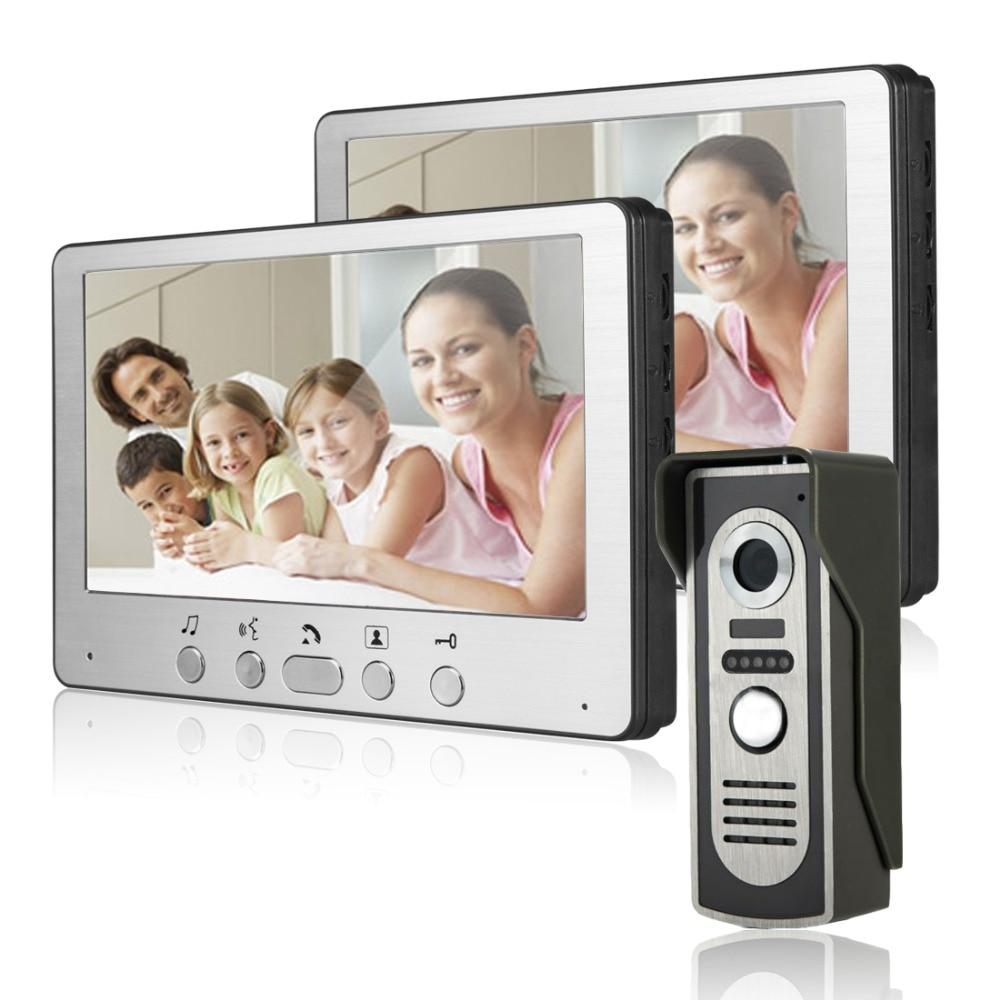 Freeship Video Door Phone Intercom Touchscreen 7