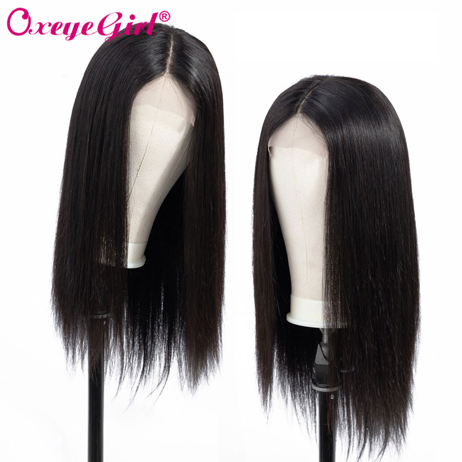 360 Lace Frontal Wig Pre Plucked With Baby Hair 150 Density Straight Lace Front Human Hair