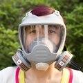 Полное лицо противогаз Органических Испарений Картридж Респиратор Маска для Окраски и Распыления Anti-dust formaldehyde Fire comparable6800