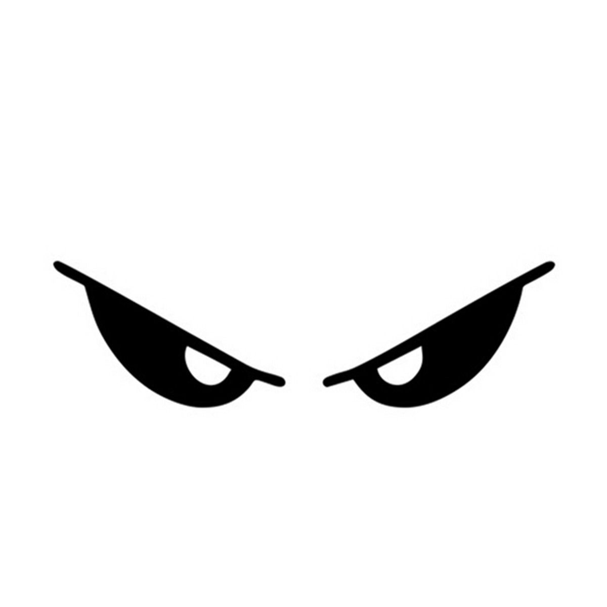 evil cartoon eyes - 800×800