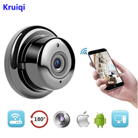 Kruiqi Wireless IP Camera HD 720P Mini Wifi Camera Network P2P Baby Monitor 960P CCTV Security Video Camera with IR cut Two Way