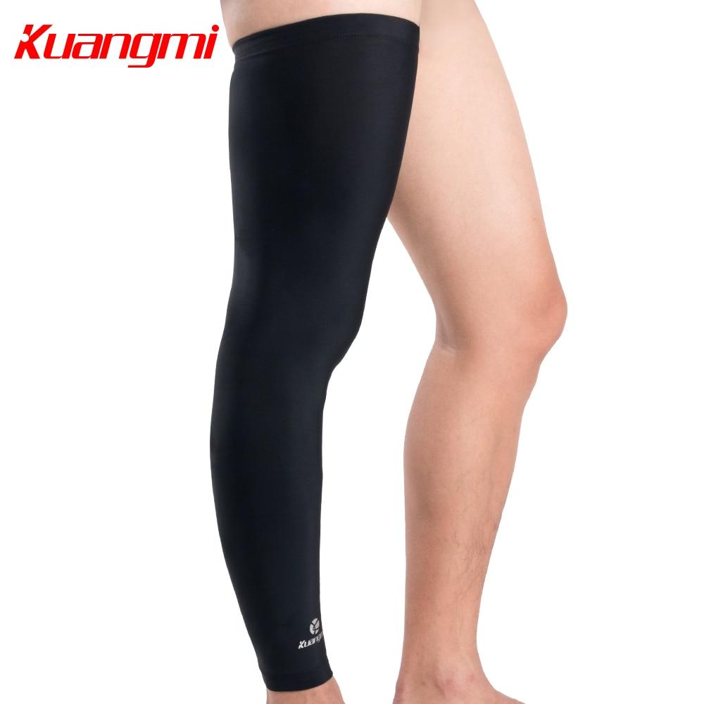 Kuangmi 1 PC Ultra-thin Cycling Leg Sleeve Basketball Leg Warmer - Sportswear and Accessories