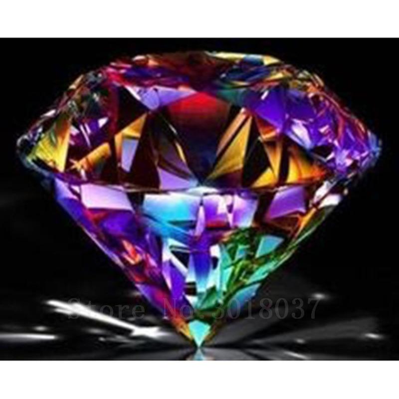 Bricolaje Pintura Diamante Punto de Cruz Multicolor Cristal Piedra - Artes, artesanía y costura