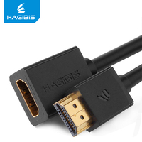 Hagibis HDMI Extension Cable male to female 4K 3D 1.4v HDMI Extended Cable 1m 1.5m 2m 3m 5m for HD TV LCD Laptop PS3 Projector HDMI Cable