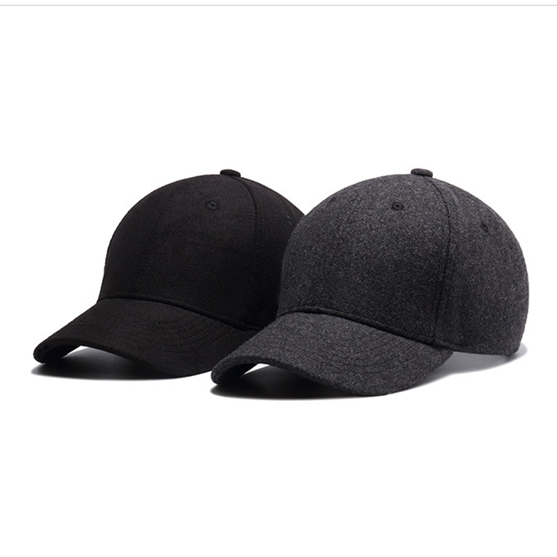 38fc7276738 FLB  Autumn And Winter Baseball Cap Cotton warm Sports Solid hats ...