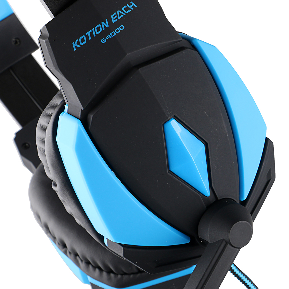 G4000 USB Stereo Gaming Headphone Headset Headband with Microphone ...
